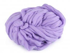 EKO MERINO 250g - fialová lila