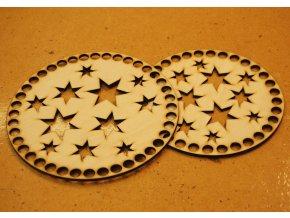 hvězdy kulaté