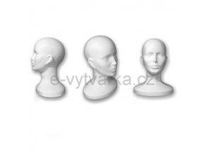 Polystyrenová bysta žena 30 x 15 x 23cm