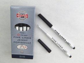 Popisovač fine liner 7001 - 0,3 mm, černý