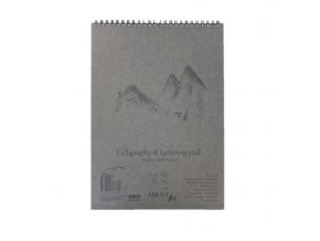 Blok na kaligrafii, 100g, 50 listů - A4, A5