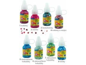 Glitrové lepidlo s konfetami (30ml)