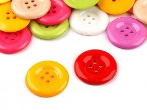 Knoflík barevný mix pr. 25,5mm (10ks)