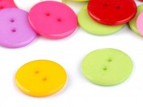 Knoflík barevný mix pr. 22,5mm (50ks)