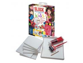 Sada s tiskařskou pěnou pro děti