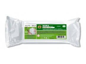 Modelovací hmota Keraplast (400g) - lehká bílá