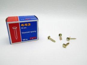 Spony vzorové 20mm (100ks)