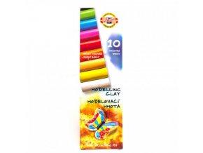 Plastelína motýl - 10 barev (200g)