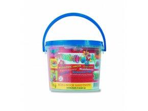Plastelína v kbelíku - 8 barev (700g)