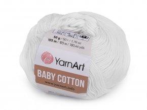 Pletací příze Baby Cotton (50g)