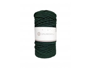 SZNURKOWO ŠŇŮRY 3mm - BOTTLE GREEN