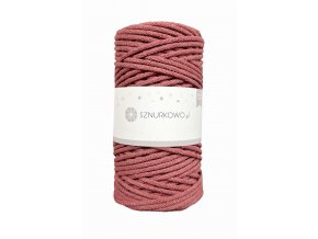 SZNURKOWO ŠŇŮRY 3mm - OLD ROSE