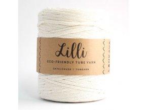 Lilli Tube Yarn (220m) - NATURAL WHITE 02