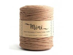 MINI TUBE YARN (355M) - LIGHT BROWN 04