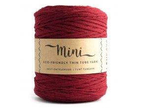 MINI TUBE YARN (355M) - WINE RED 15