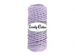 Lovely Cotton ŠŇŮRY - 3mm (100m) - LILA