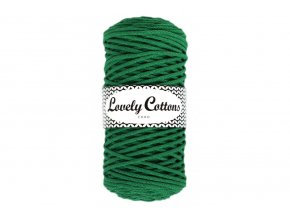 Lovely Cotton ŠŇŮRY - 3mm (100m) - GREEN