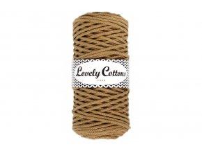 Lovely Cotton ŠŇŮRY - 3mm (100m) - LINEN