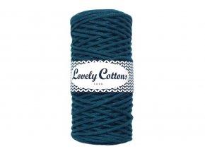 Lovely Cotton ŠŇŮRY - 3mm (100m) - TEAL