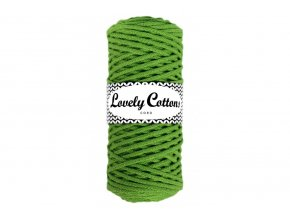 Lovely Cotton ŠŇŮRY - 3mm (100m) - KIWI