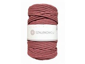 SZNURKOWO ŠŇŮRY 5mm - OLD ROSE