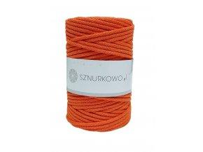 SZNURKOWO ŠŇŮRY 5mm - ORANGE