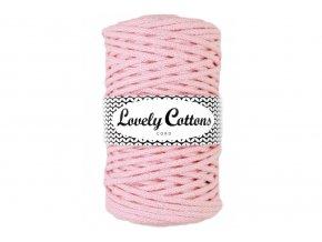 Lovely Cotton ŠŇŮRY - 5mm (100m) - BABY PINK