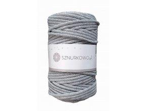 SZNURKOWO ŠŇŮRY 5mm - GREY