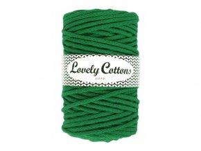 Lovely Cotton ŠŇŮRY - 5mm (100m) - GREEN