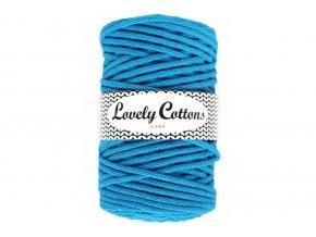 Lovely Cotton ŠŇŮRY - 5mm (100m) - AZURE