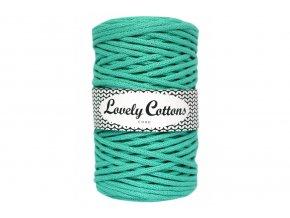 Lovely Cotton ŠŇŮRY - 5mm (100m) - DARK MINT