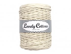Lovely Cotton MACRAME - 5mm (100m) - NATURAL