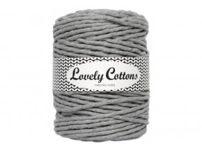 Lovely Cotton MACRAME - 5mm (100m) - GREY