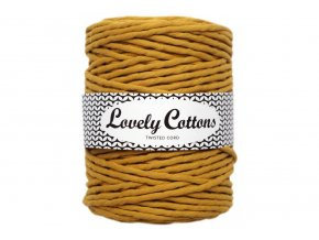 Lovely Cotton MACRAME - 5mm (100m) - MUSTARD
