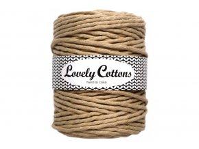 Lovely Cotton MACRAME - 5mm (100m) - BEIGE