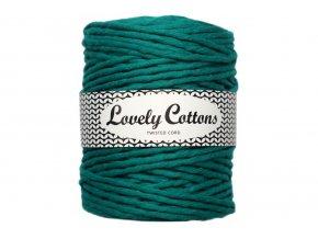 Lovely Cotton MACRAME - 5mm (100m) - EMERALD
