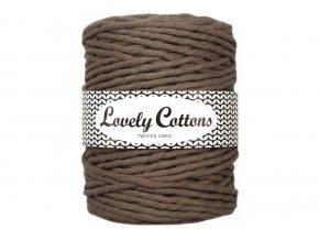 Lovely Cotton MACRAME - 5mm (100m) - MOCHA