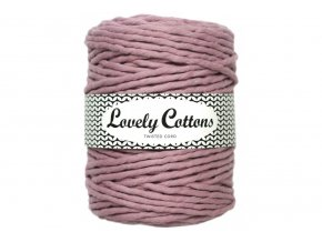 Lovely Cotton MACRAME - 5mm (100m) - DUSTY LILAC