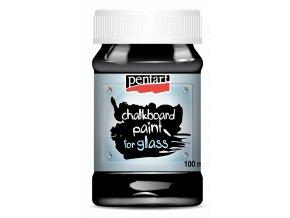 Tabulová barva na sklo (100ml) - černá