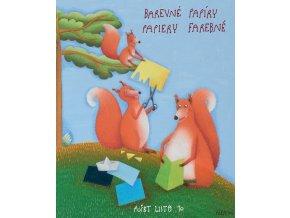 Složka barevných papírů A3 (10 listů) - veverky