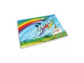 Blok akvarelový A4, 10 listů