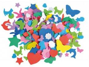 Pěnové výseky - mix tvarů a barev (250ks)