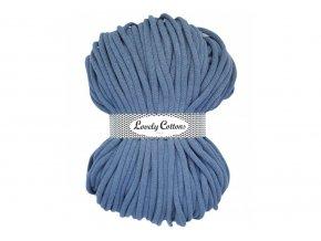 Lovely Cotton ŠŇŮRY - 9mm (100m) - LIGHT JEANS