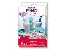 FIMO SOFT sada - pastelové barvy