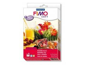 FIMO SOFT sada - teplé barvy