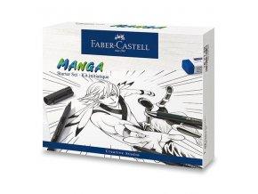 Popisovač Pitt Artist Pen Manga - sada, 19 ks