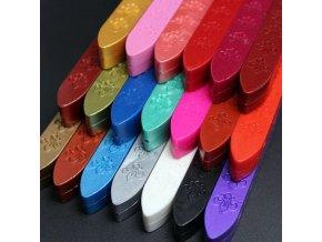 Barevný pečetní vosk BEZ knotu - 1ks