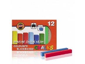 koh i noor 112506 barevna krida skolni 12ks v krabicce
