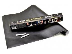 Černá nalepovací tabule 45x100cm