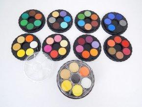 Vodové barvy Koh-i-Noor, kulaté - 48 barev